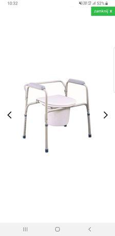 Sprzedam nowa przenośna toaletę dla seniora wraz z pampersami roz.XL