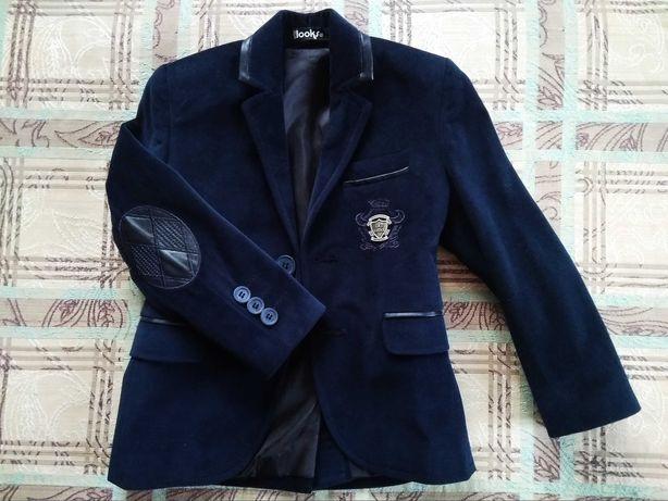 Піджак вільветовий на 3-4 роки