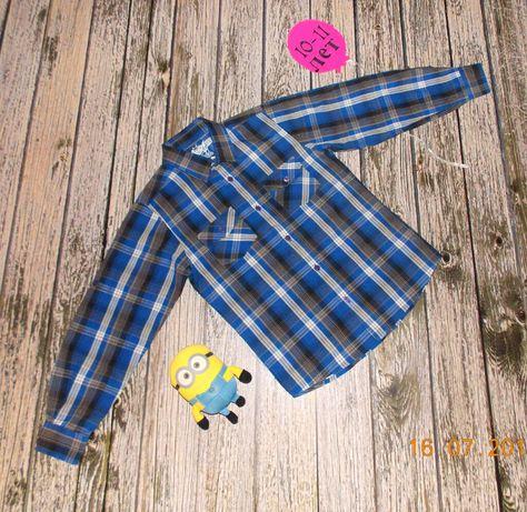 Красивая рубашка Rebel для мальчика 10-11 лет, 140-146 см