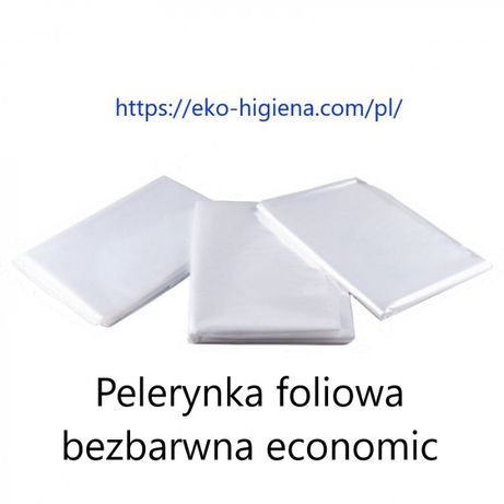 Pelerynki jednorazowe, ręczniki i inne artykuły jednorazowe