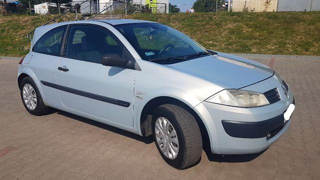 Renault Megane II 2002r 1,6 ben, Ważne opłaty,II właściciel,