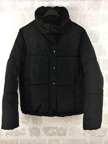 H&M pikowana ocieplana kurtka S/M (170cm)