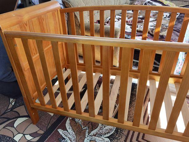 Łóżeczko drewniane 140 x70