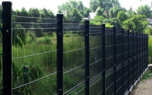 Ogrodzenie panelowe 1.53m x 2.50m drut 4mm ocynk malowany proszkowo.