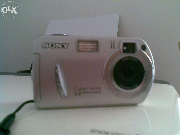 maquina de fotos sony dsc-p32 com memory 256