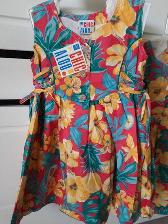 Sukienka letnia r. 98