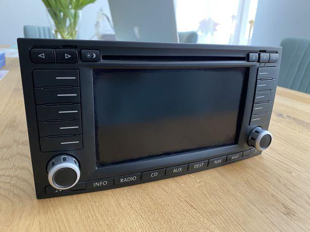 Radio CD z nawigacją VW T5 Transporter Multivan Navi