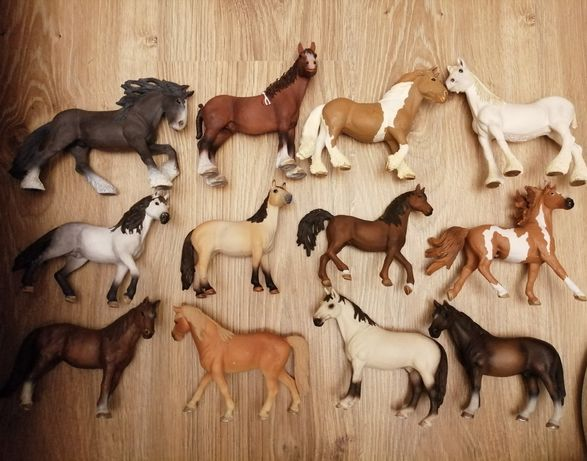 Figurki koni Schleich, Animal Planet, Bullyland