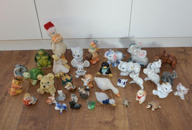 Figurki porcelanowe, z glinki i inne, figurki zwierzątka