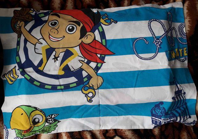 poszewka na poduszkę pirat z bajki 60x40