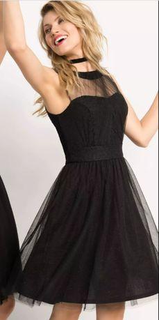 Rozkloszowana sukienka z tiulu Orsay roz. 36