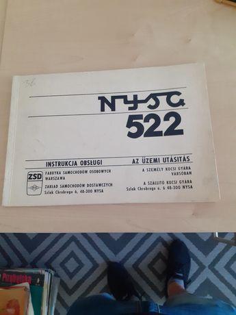 Instrukcja obsługi Nysa 522