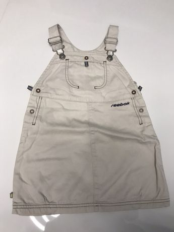 Sukienka reebok jeansowa 98 cm,2-3 lata