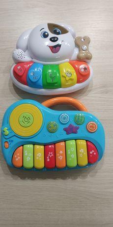 Dwa pianinka dla maluszka. Zabawki interaktywne. Smyk. Smiki.