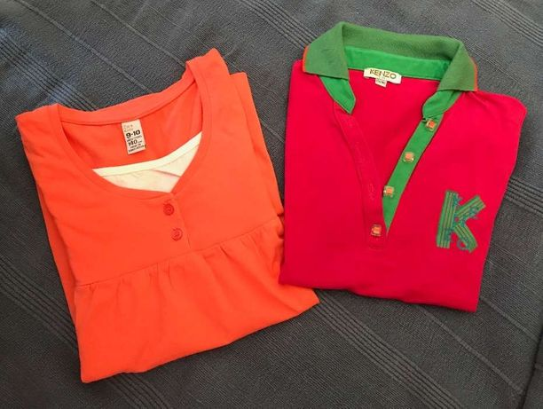 Polo Kenzo e túnica Zara