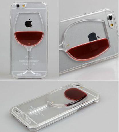 """Кейс """"Вино в бокале"""": для iPhone 6/6s"""