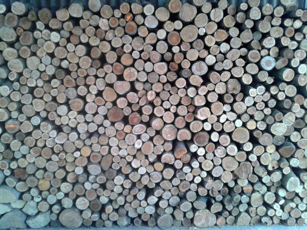 Drewno kominkowe opałowe dąb transport