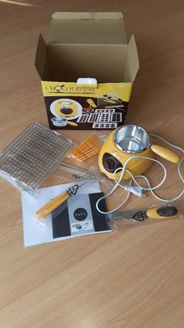 Máquina de fondue chocolate