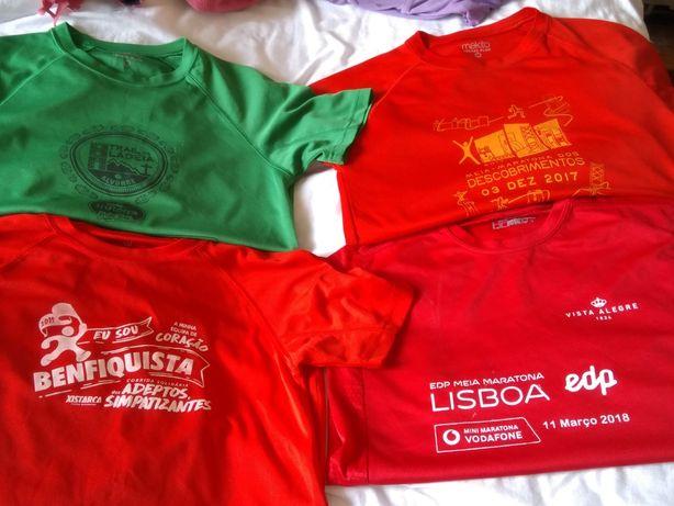 Dou t-shirt de corrida tamanho S