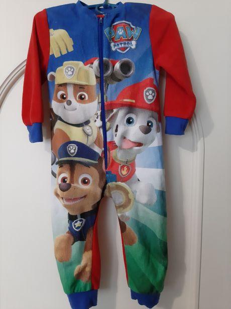 Флисовый человечек Щенячий патруль,пижама,поддева,комбез 2-3 года,98см