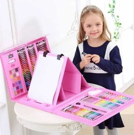 Детский набор для рисования 208 предметов   Набор для творчества