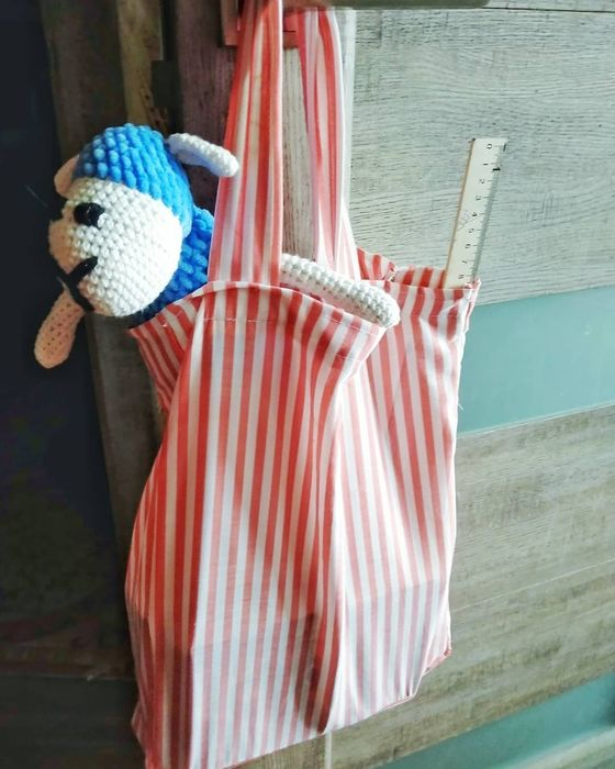 Еко-сумка для продуктів, одягу, зошитів і так далі Буча - изображение 1