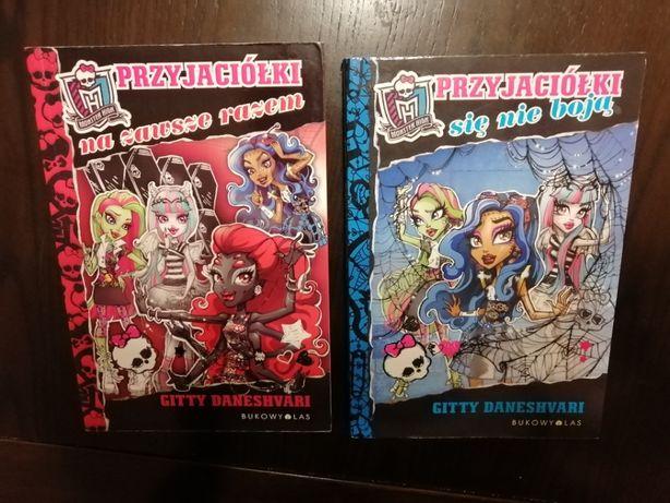 Zestaw 2 książek z serii Monster High