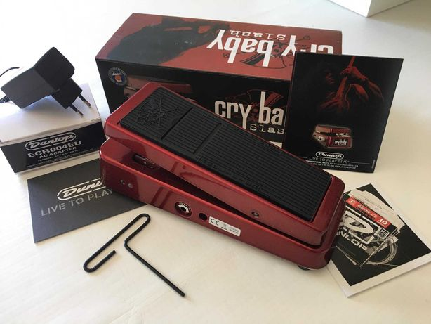 Cry Baby Slash Classic Red Limited Edition Signature Model
