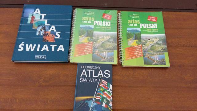 Atlas Polski oraz Atlas Świata