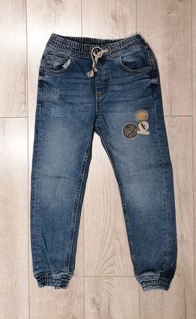 Reserved 128 jak nowe spodnie jeansowe jeansy