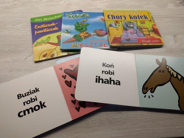Zestaw książeczek dla maluszka