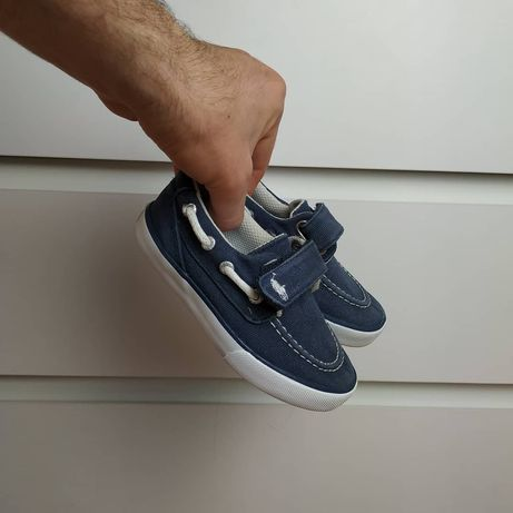 Polo Ralph Lauren топсайдери дитячі 25р (14,5см)
