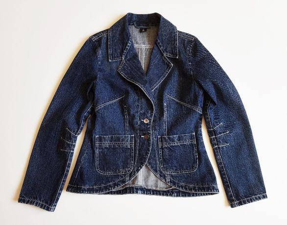 RICA LEWIS damski jeansowy żakiet marynarka r. 38