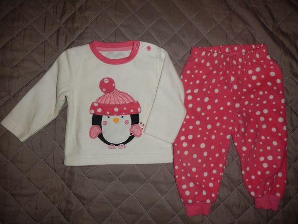 Флисовая пижама early days р.80см(6-12мес)