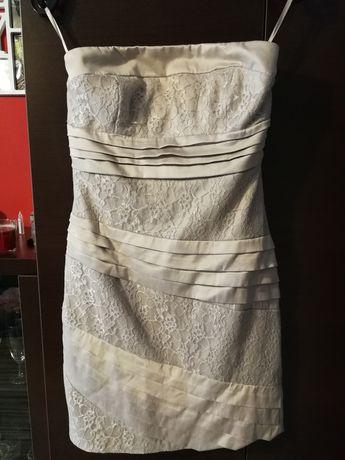 Sukienka satynowa 38