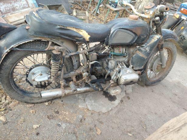 Разборка. Мотоцикл Днепр МТ-11. Документы