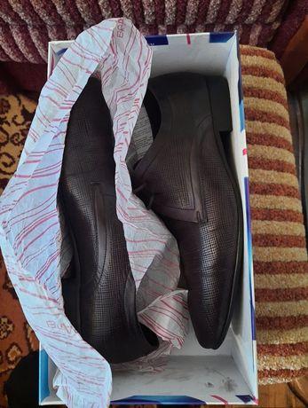 """Кожаные туфли """"Braska"""" Original Р-42.5"""