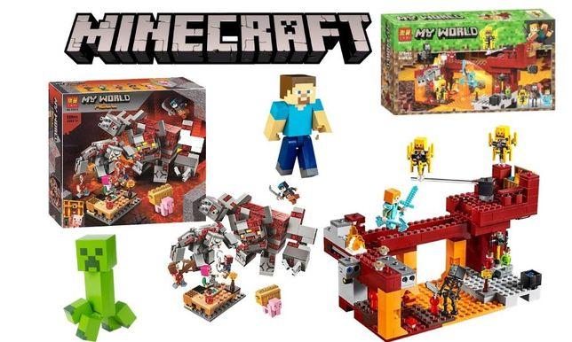 """Конструктор """"Minecraft: шахта """", 303 дет BELA 11137"""