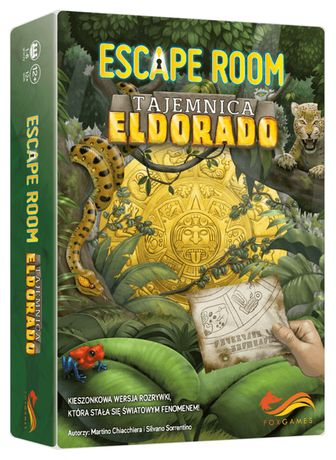 Gra karciana Escape Room Tajemnica Eldorado