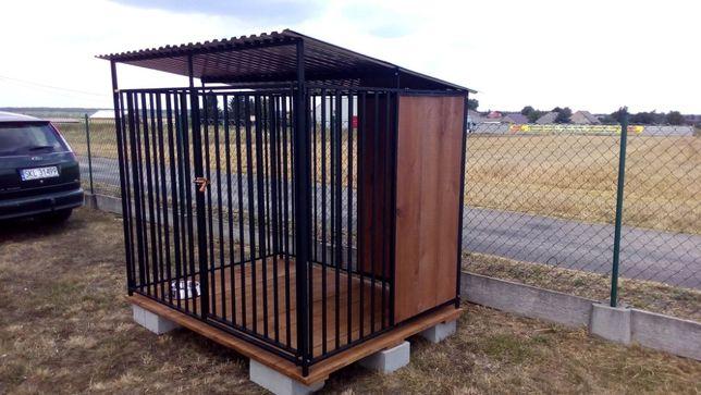 Różne wzory-Kojec dla psa /kojce i inne zabudowy stalowo-drewniane