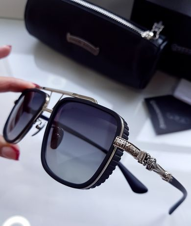 Мужские солнцезащитные очки - Chrome Hearts PUSHIN ROD // - 4 цвета