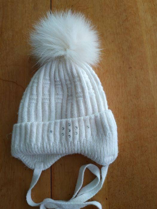 Зимняя шапочка для девочки Киев - изображение 1