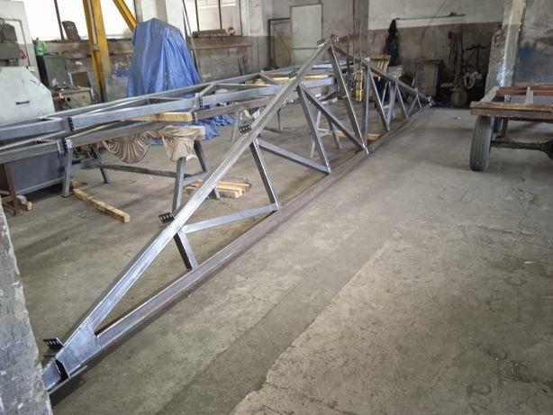 Wiązar dachowy 10m kratownica stalowa,konstrukcja hala Wiata garaż