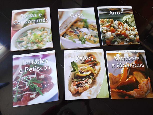 """Coleção 6 livros """"comer bem,viver melhor"""""""