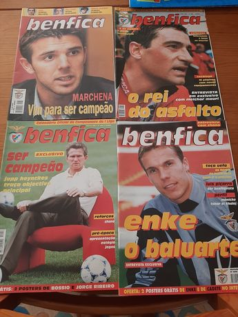 11 revistas Benfica 1 anuario slb 1 caça autografos