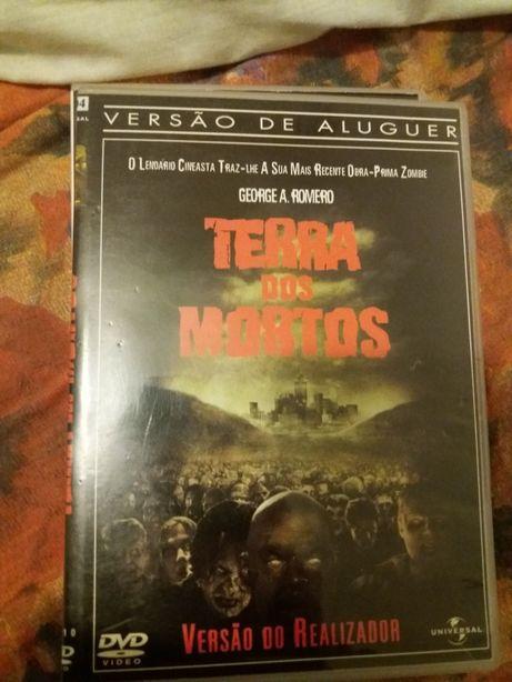Dvd Terra dos mortos portes incluídos