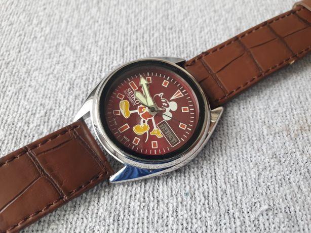 Zegarek Seiko 5 7019A 17 Jewels Automatic Mickey