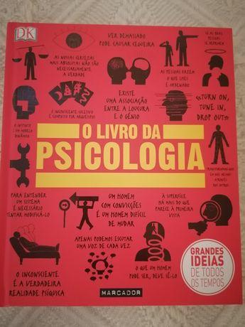 Livro da Psicologia e livro da História