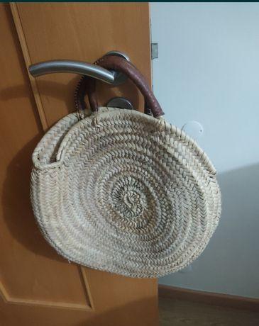 Mala em palha handmade