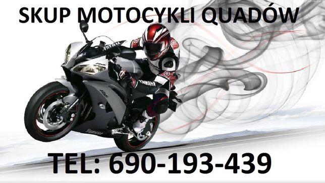 Skup quadów motocykli quady skutery motorowery sherco suzuki ktm yamah